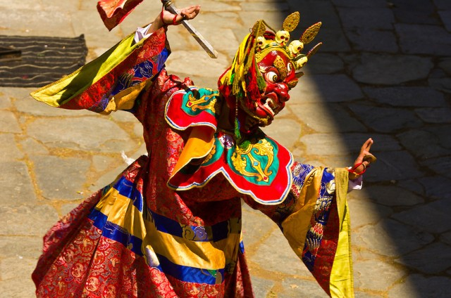 Thimphu Tsechu (October 11-13) – 6 days